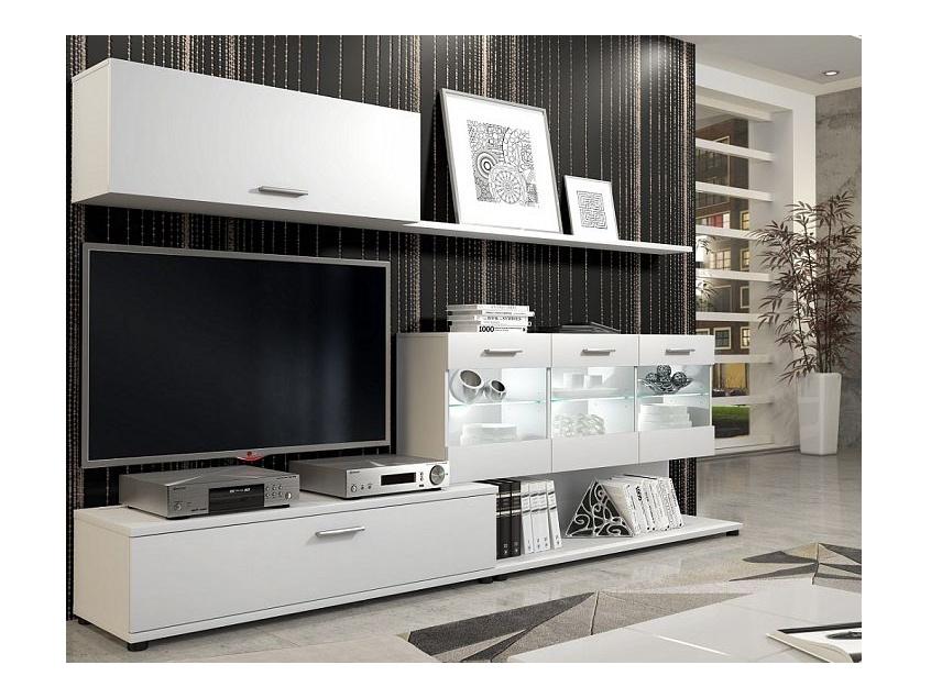 ORFA MIX RUBI bytová stěna, bílá