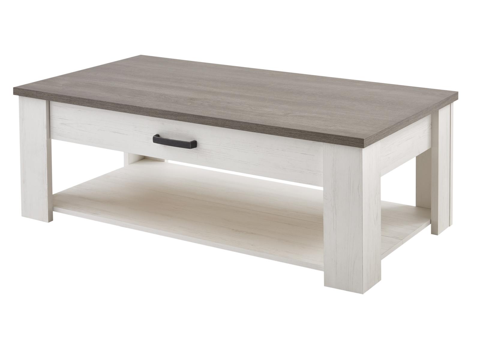 DEMEYERE MARQIS konferenční stůl 120x64, borovice andersen/dub prata