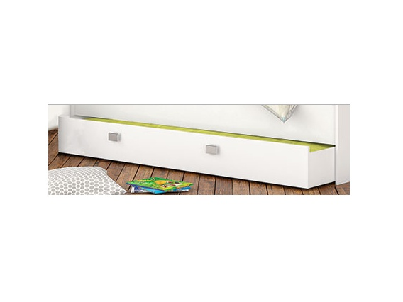 DEMEYERE COBE zásuvka pod postel, bílá