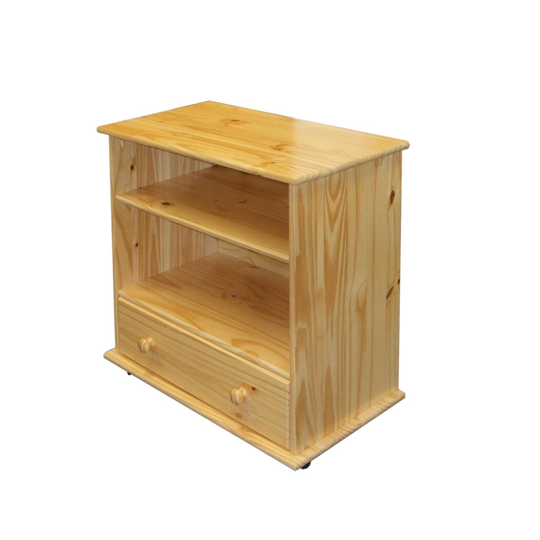 TV stolek KNUCK, masiv borovice