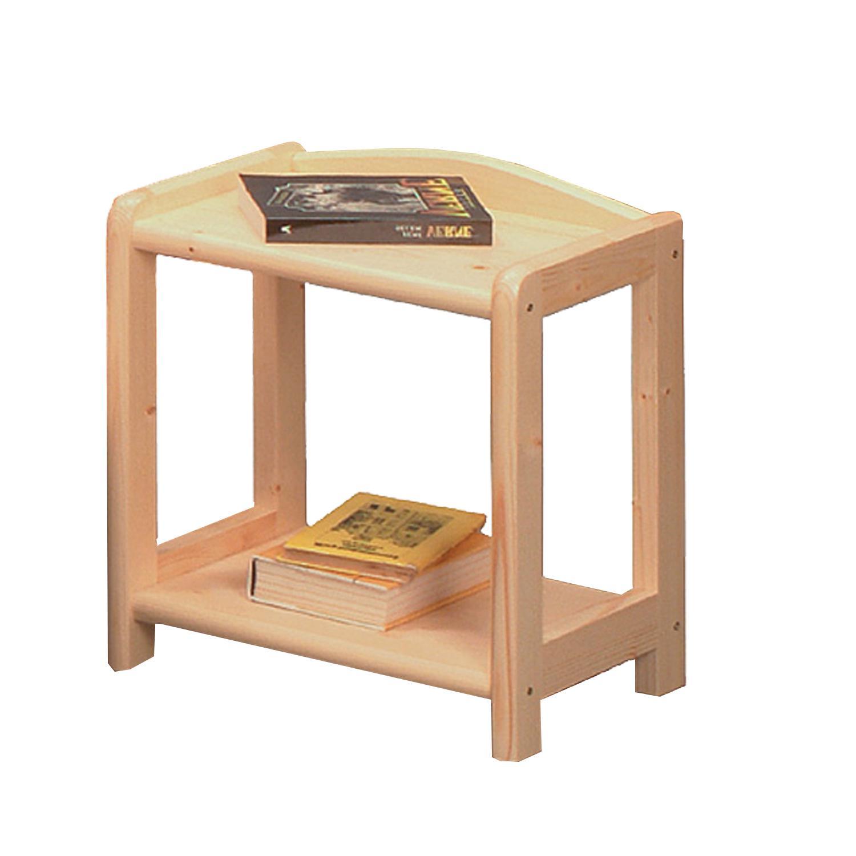 Noční stolek 710, masiv smrk