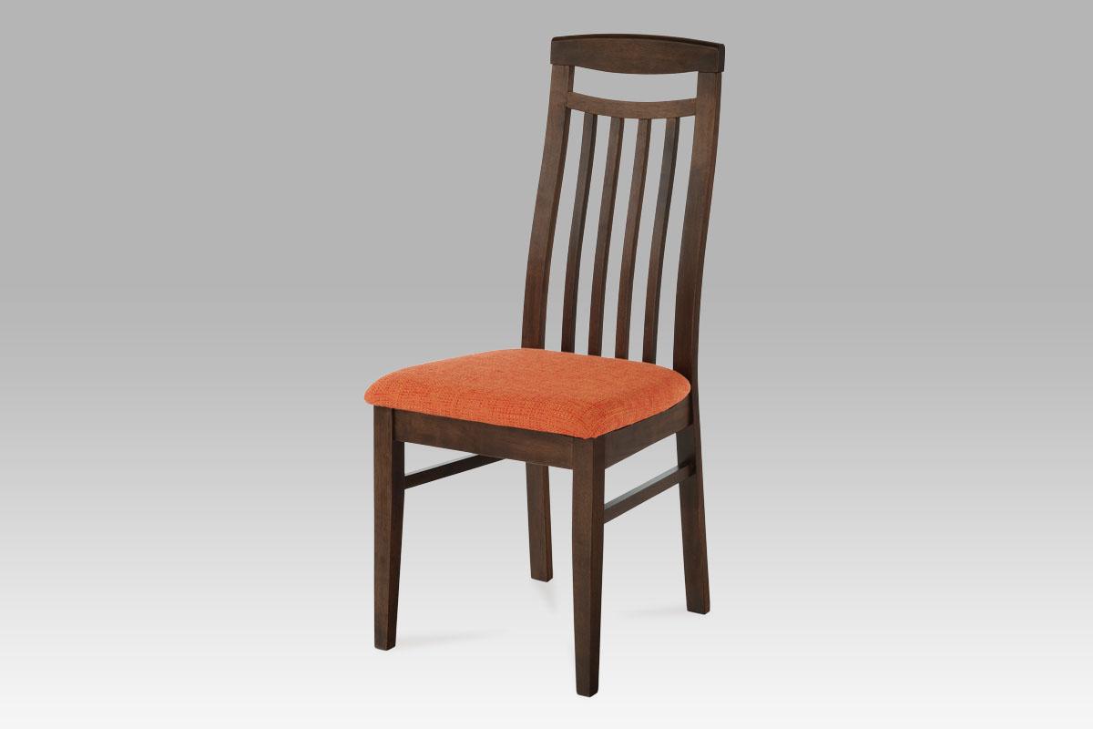 Autronic Dřevěná židle ořech BE810 WAL BEZ SEDÁKU