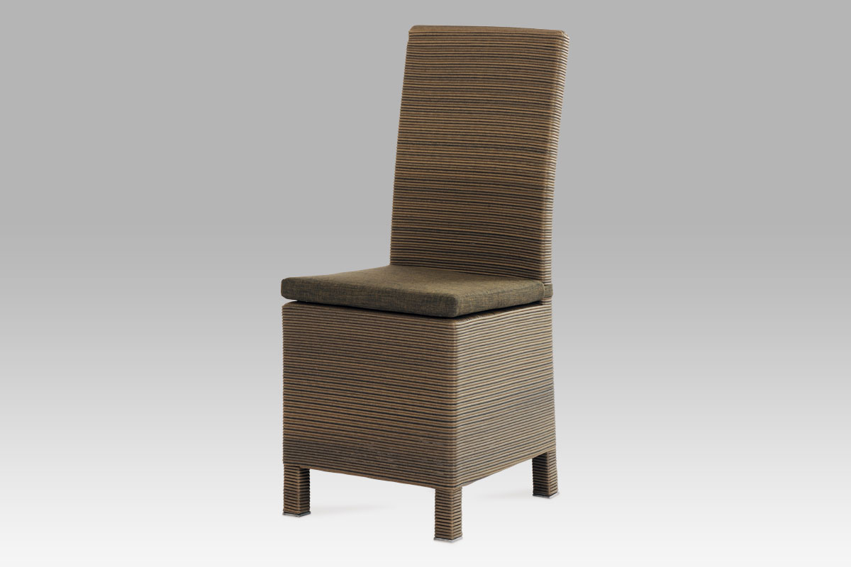 Autronic Jídelní židle SOF047, umělý ratan