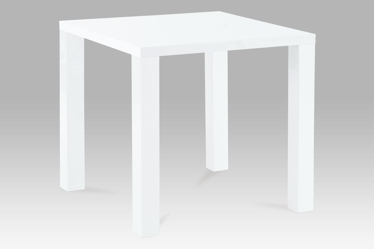 Autronic Jídelní stůl AT-1005 WT, bílý