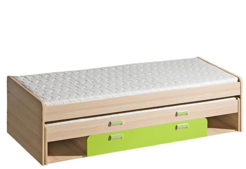 Casarredo LORENTTO, postel L16, jasan/limetka,včetně matrací