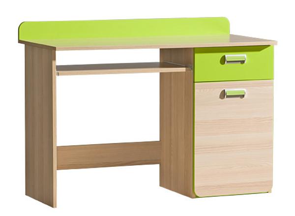 Dětský PC stůl L10 LORENTO, jasan/limetka