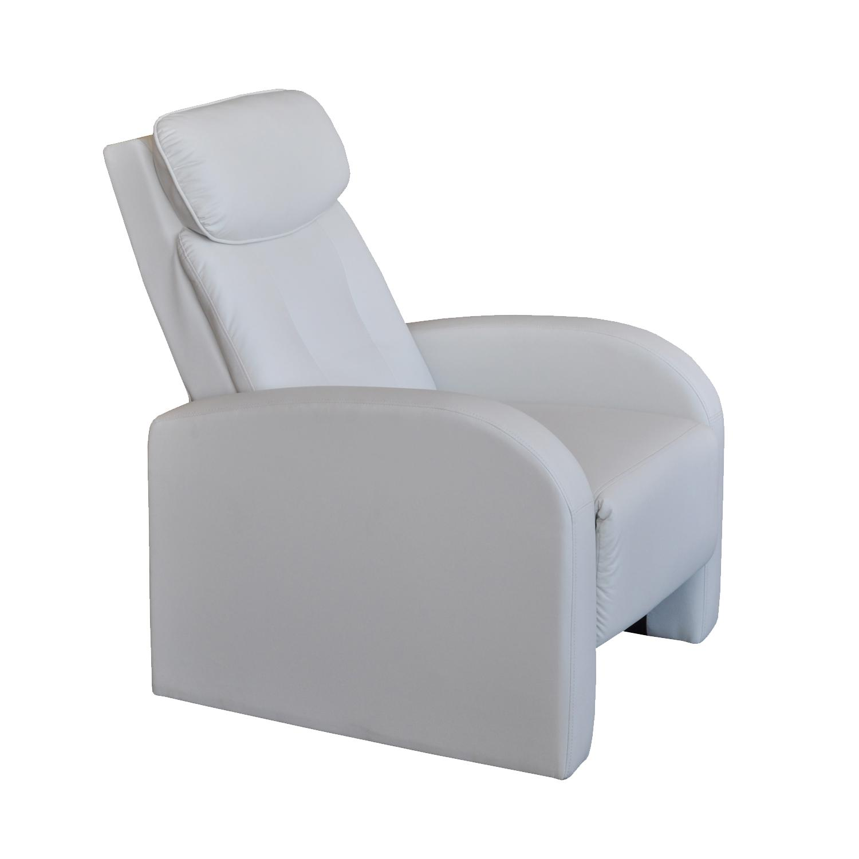 Idea Relaxační křeslo Toledo, bílá