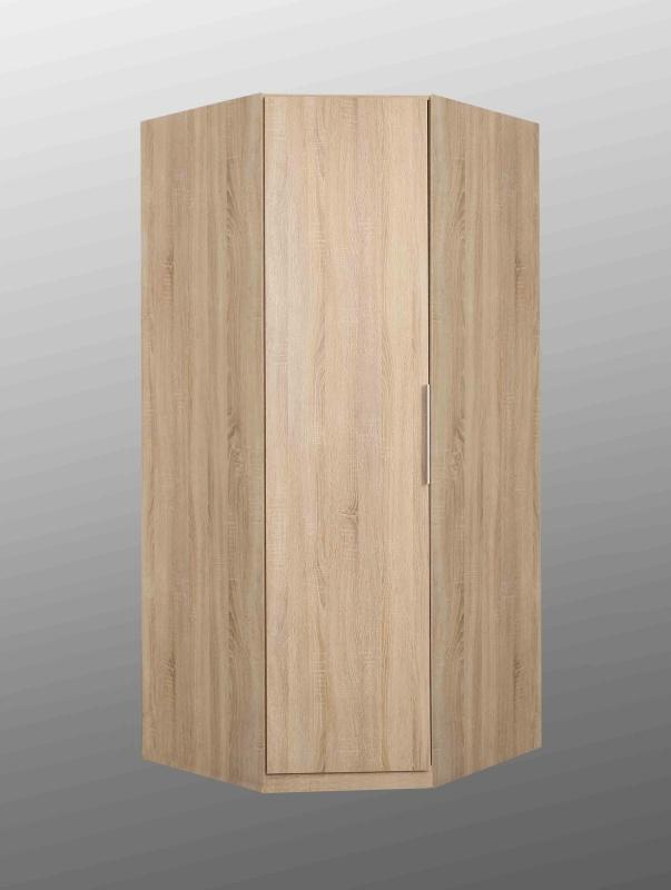Forte CADIXO, rohová skříň CDXS91, dub sonoma