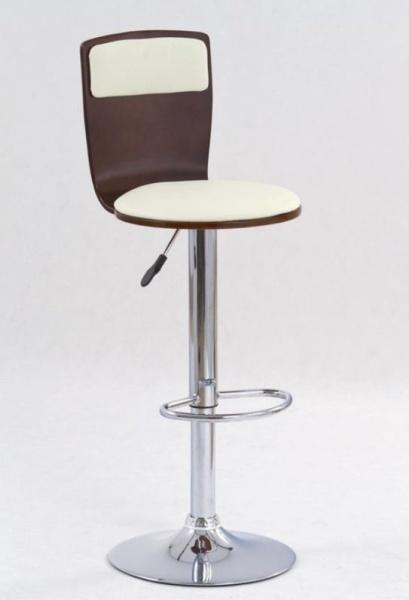 Halmar Barová židle H-7, třešeň antická/béžová