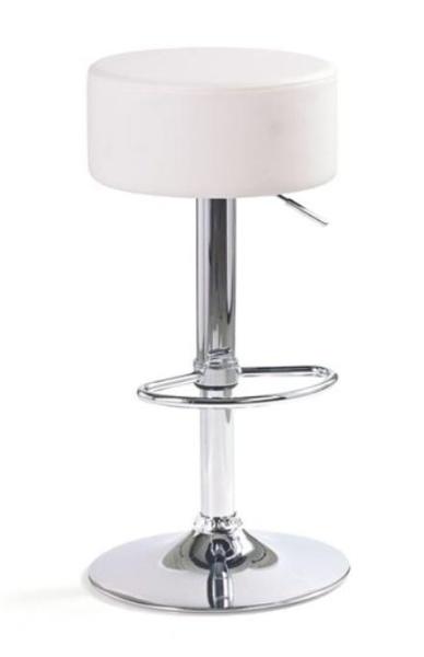 Halmar Barová židle H-23, bílá