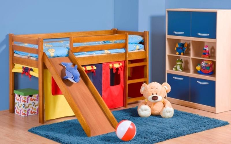 Halmar Dětská postel Neo Plus, borovice