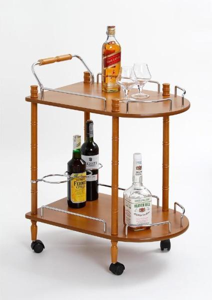 Halmar Barový stolek BAR-4, buk