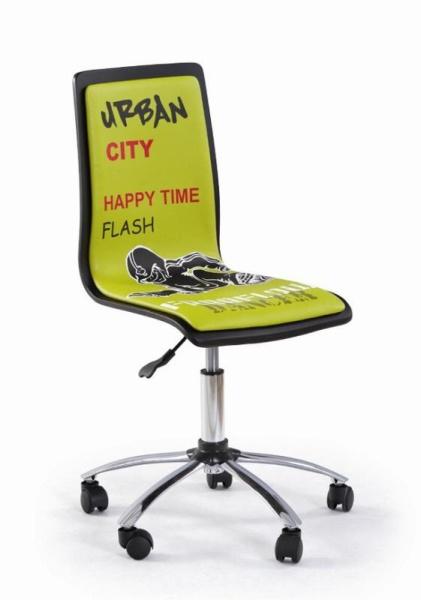 Halmar Dětská židle FUN-2, zelená