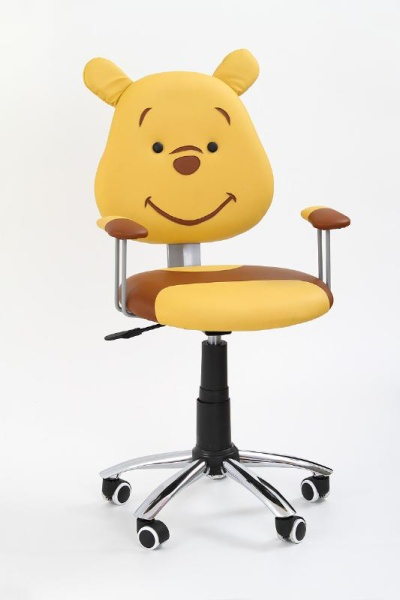 Dětská židle KUBUS, hnědá