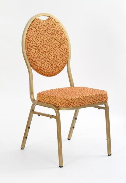 Halmar Židle K67, zlatá