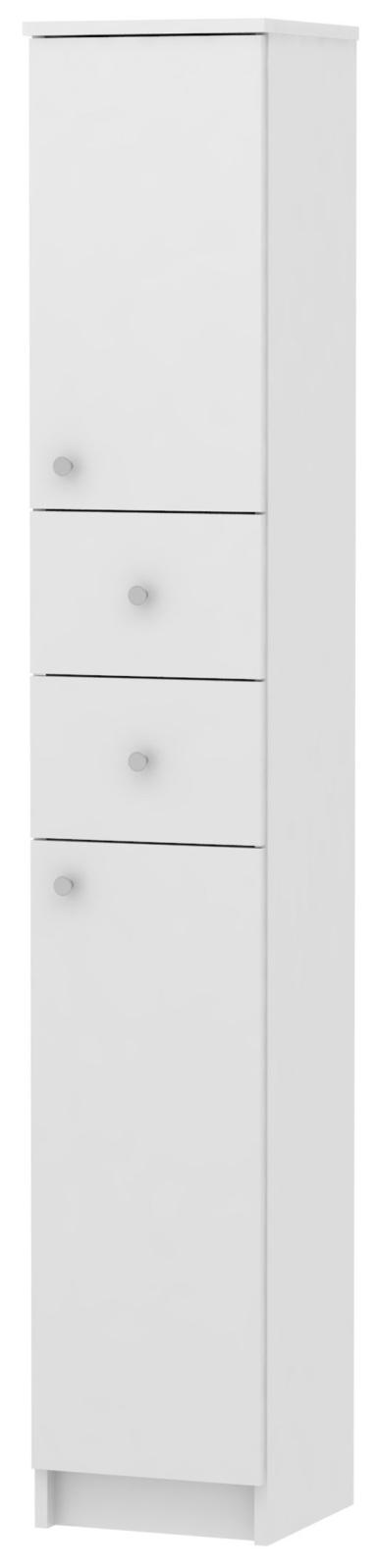 SIMONA, skříňka vysoká SI13, bílá