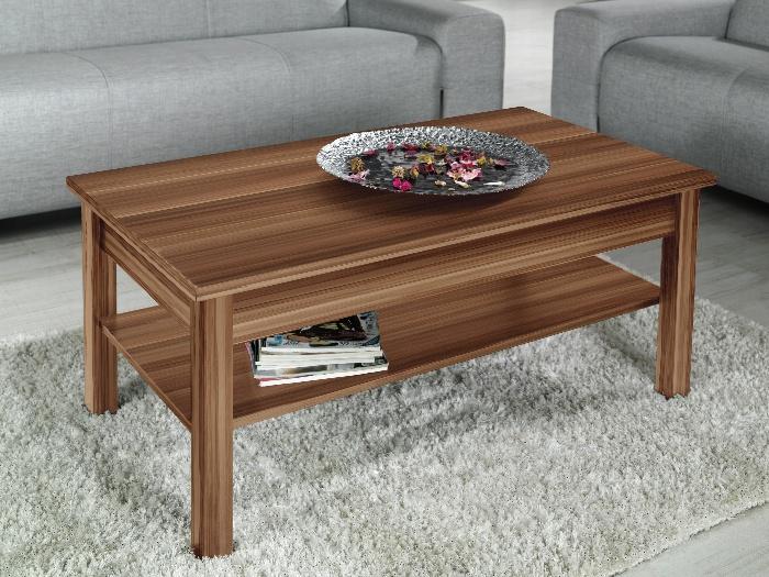 CAMA Konferenční stolek LAWA, švestka