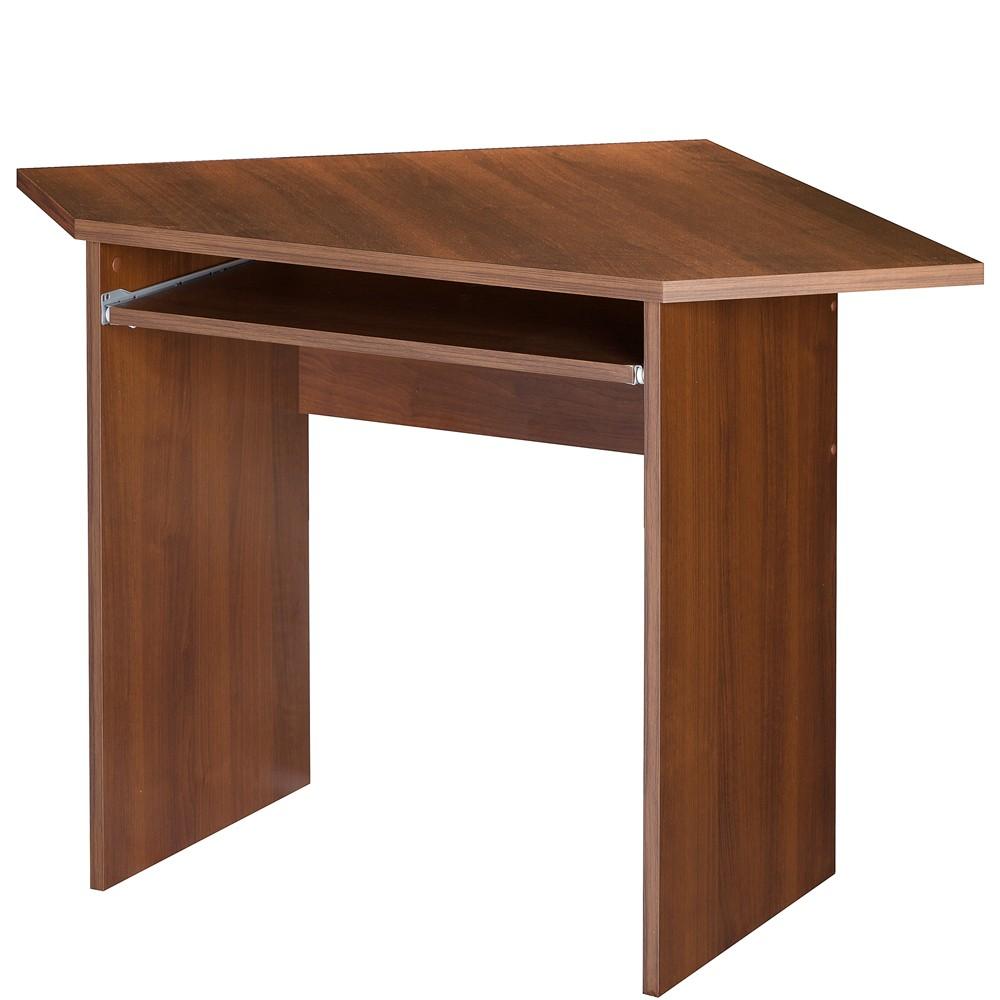 SZYNAKA PC stůl rohový MAG EURO 32, ořech