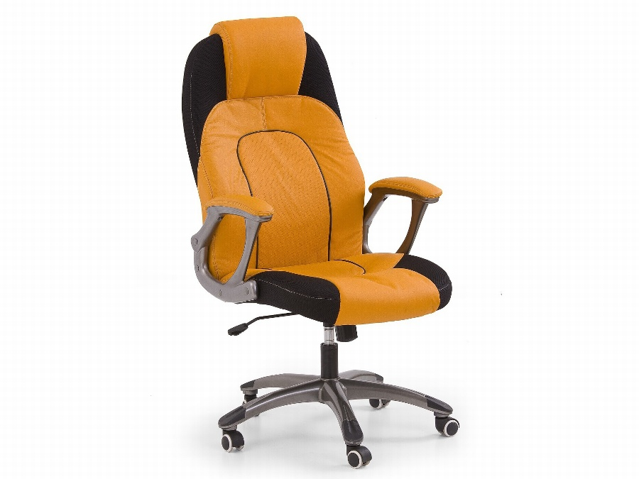 Halmar Kancelářské křeslo VIPER, oranžovo-černá