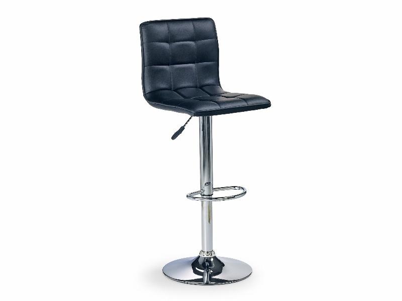 Halmar Barová židle H-29, černá