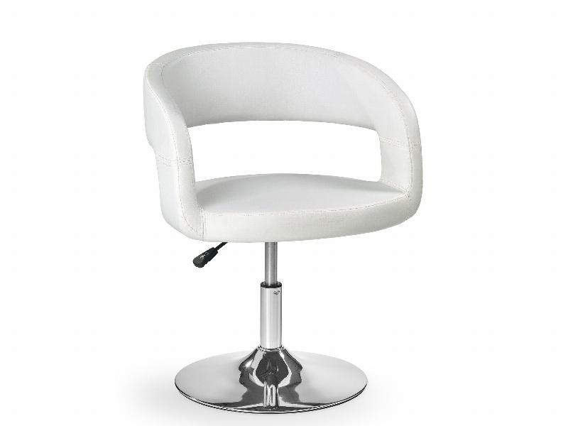 Halmar Barová židle H-41, bílá