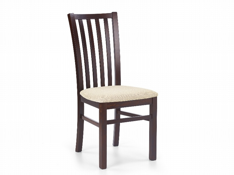 Halmar Jídelní židle GERARD 7, ořech tmavý