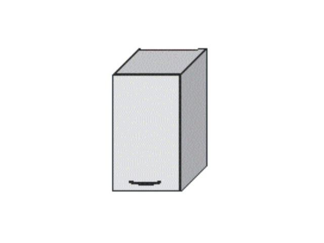 Tempo Kondela JURA NEW B, horní skříňka G-40, bílá