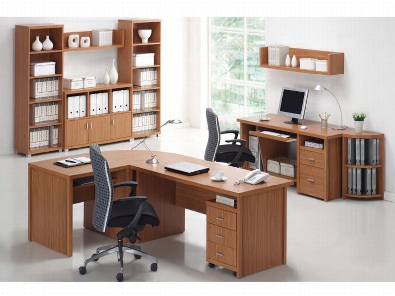 Tempo Kondela OSCAR, kancelářská sestava-vzorová sest. 3, třešeň