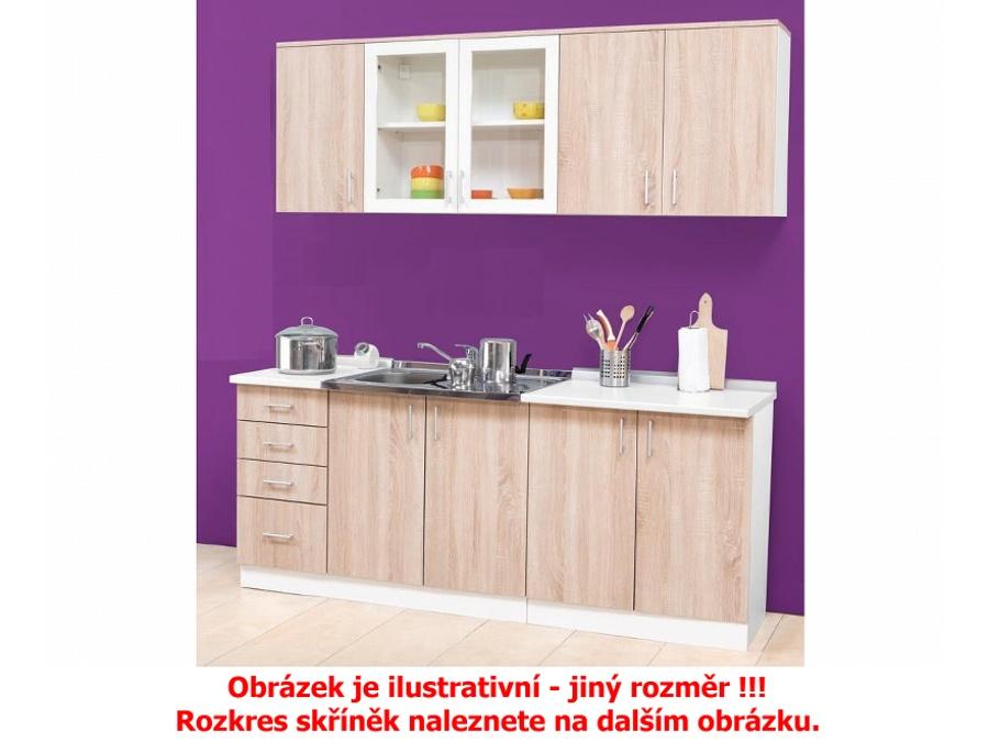 MATIS Kuchyně STANDARD 160/220 cm, dub