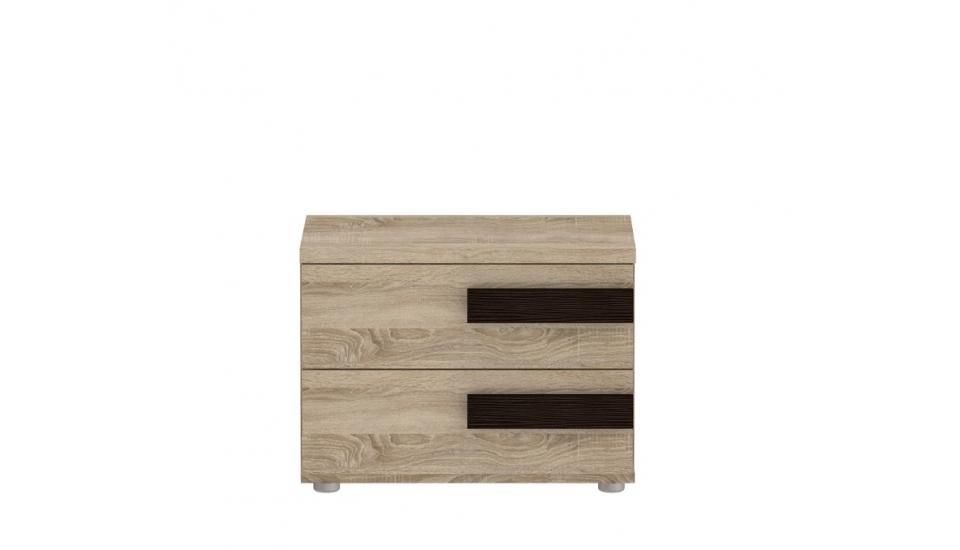 Forte LATIS, noční stolek LTSK02, dub sonoma