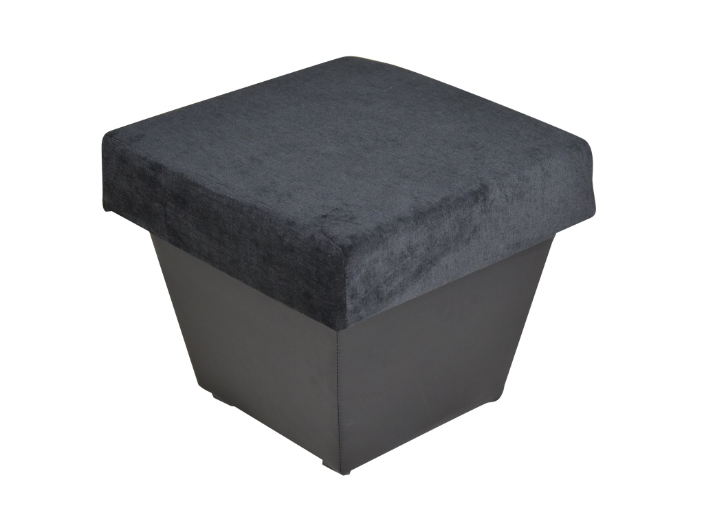 Smartshop Taburet TOLEDO, látka černá