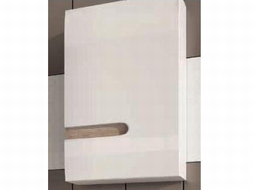 Extom LINATE/157P, horní skříňka, alpská bílá/trufla