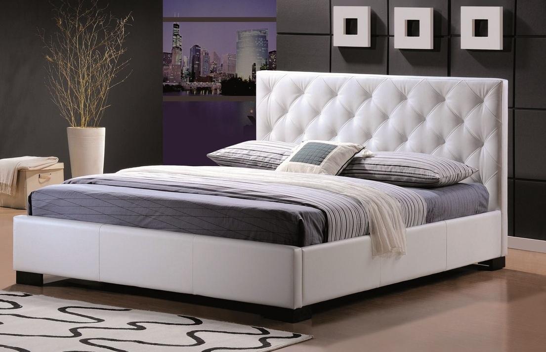 TERANO, postel 180x200 cm, bílá