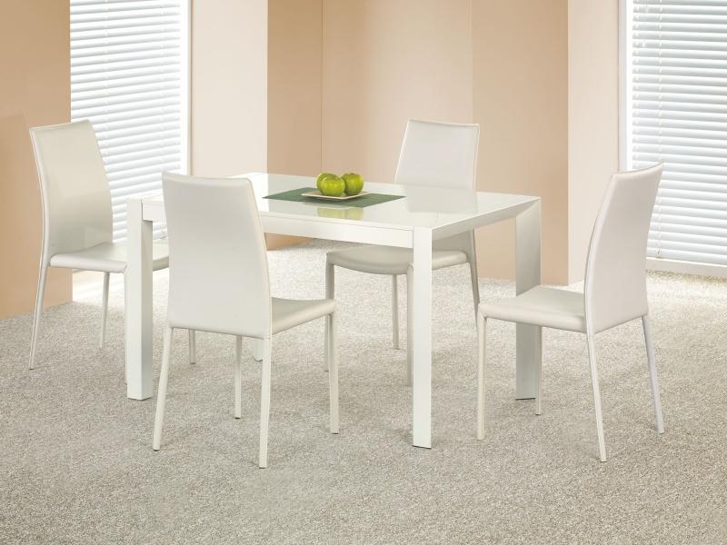 Halmar Jídelní stůl rozkládací STANFORD XL, bílý lesk