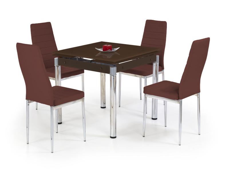 Halmar Jídelní stůl rozkládací KENT, hnědý