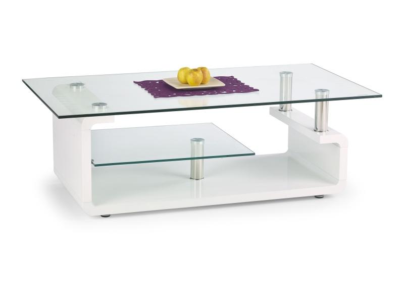 Halmar Konferenční stolek CYNTHIA, bílý