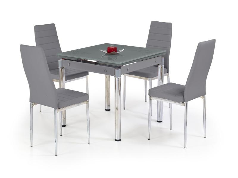 Halmar Jídelní stůl rozkládací KENT, šedý