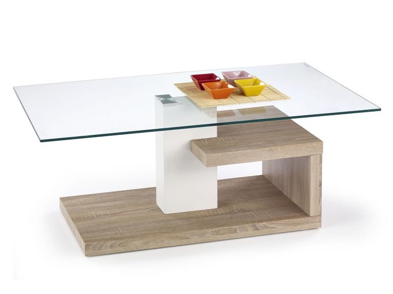 Halmar Konferenční stolek EVELIN, dub sonoma