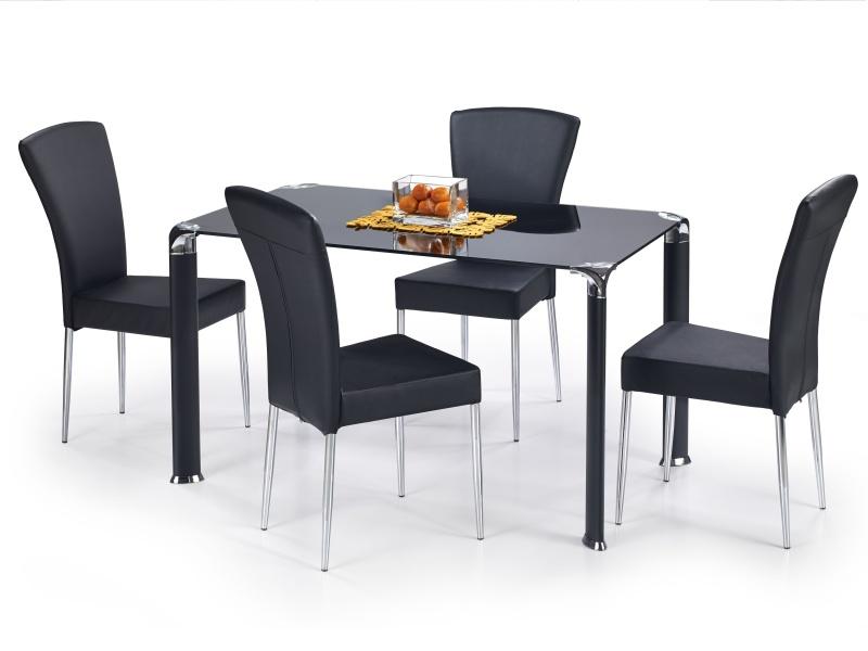 Halmar Jídelní stůl JIM, černý