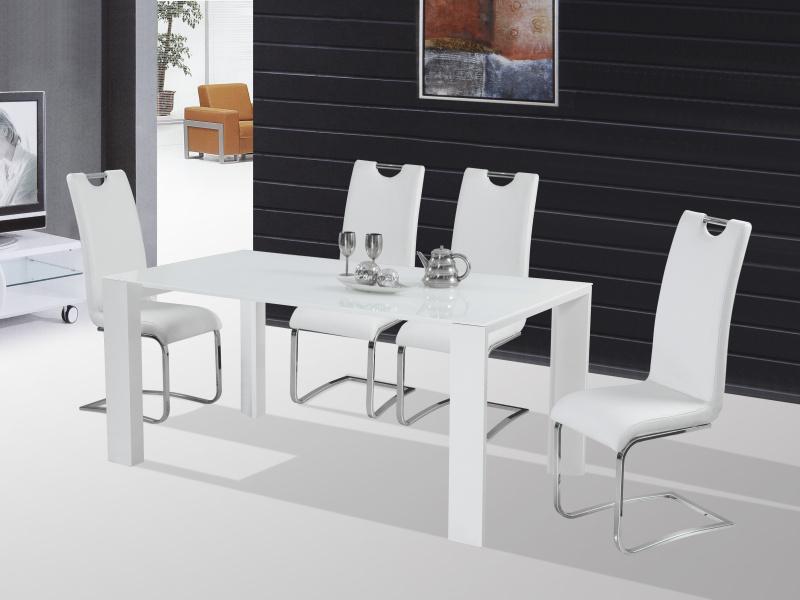 Halmar Jídelní stůl JONAS, bílý