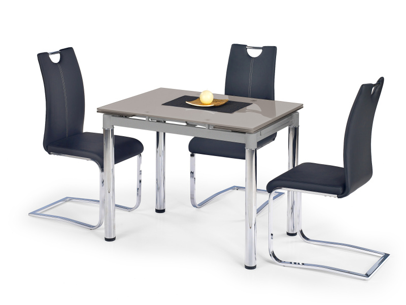 Halmar Jídelní stůl rozkládací LOGAN 2, šedý