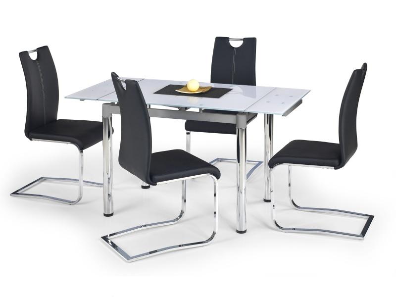 Halmar Jídelní stůl rozkládací LOGAN 2, bílý