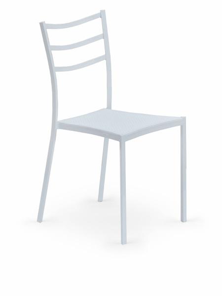 Halmar Židle K159, bílá
