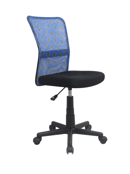 Halmar dětská židle DINGO, modrá/černá