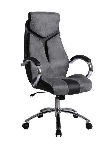 Halmar Kancelářské křeslo NIXON, šedá/černá