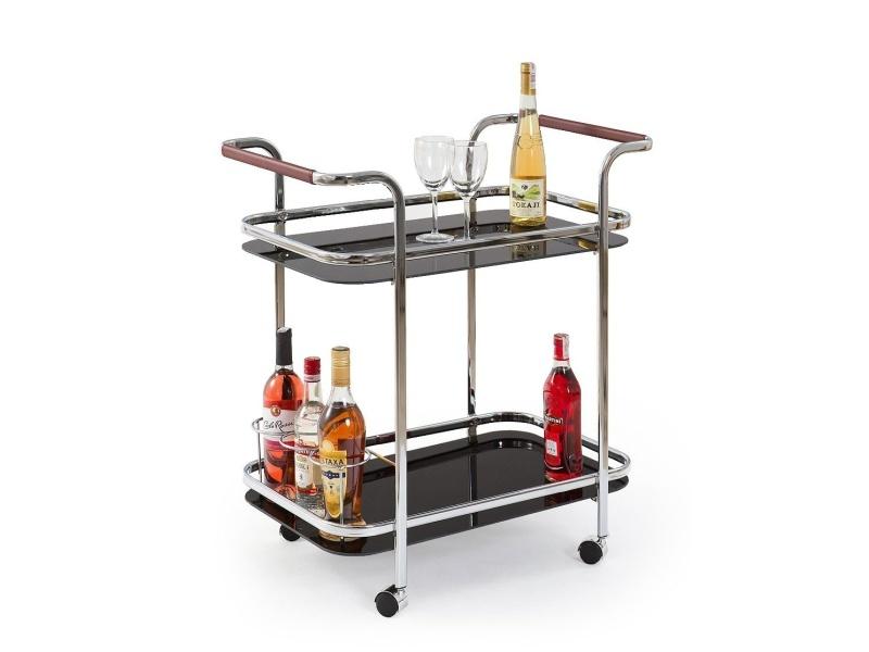 Halmar Barový stolek BAR-7, černý