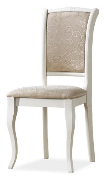 Smartshop Dřevěná židle OP-SC2, bílá