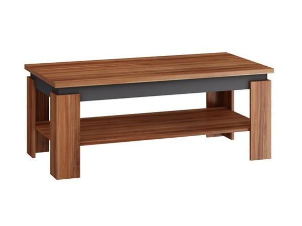 MORAVIA FLAT Konferenční stolek BETA, švestka/grafit