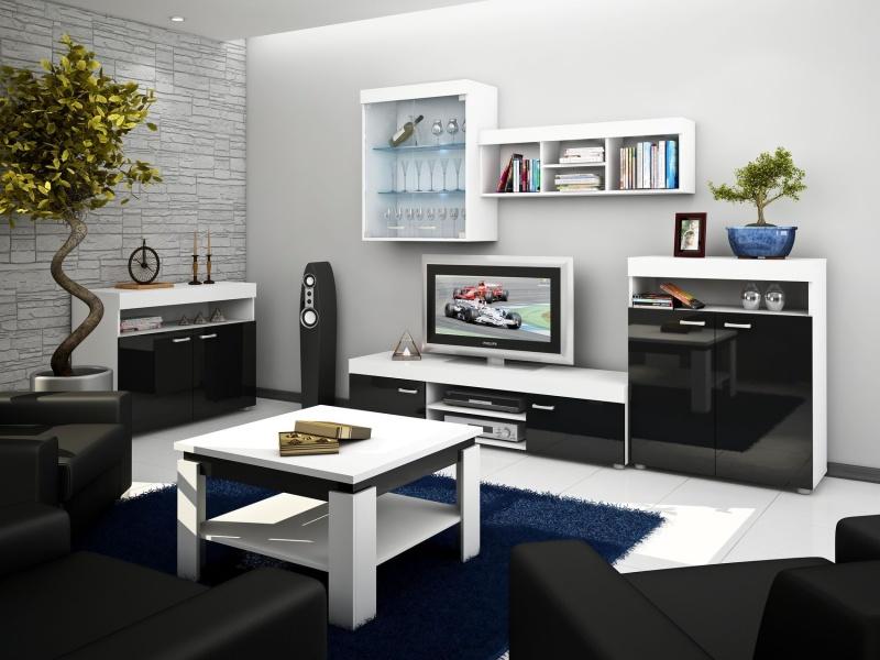 MORAVIA FLAT Obývací stěna MAX, barva: ...