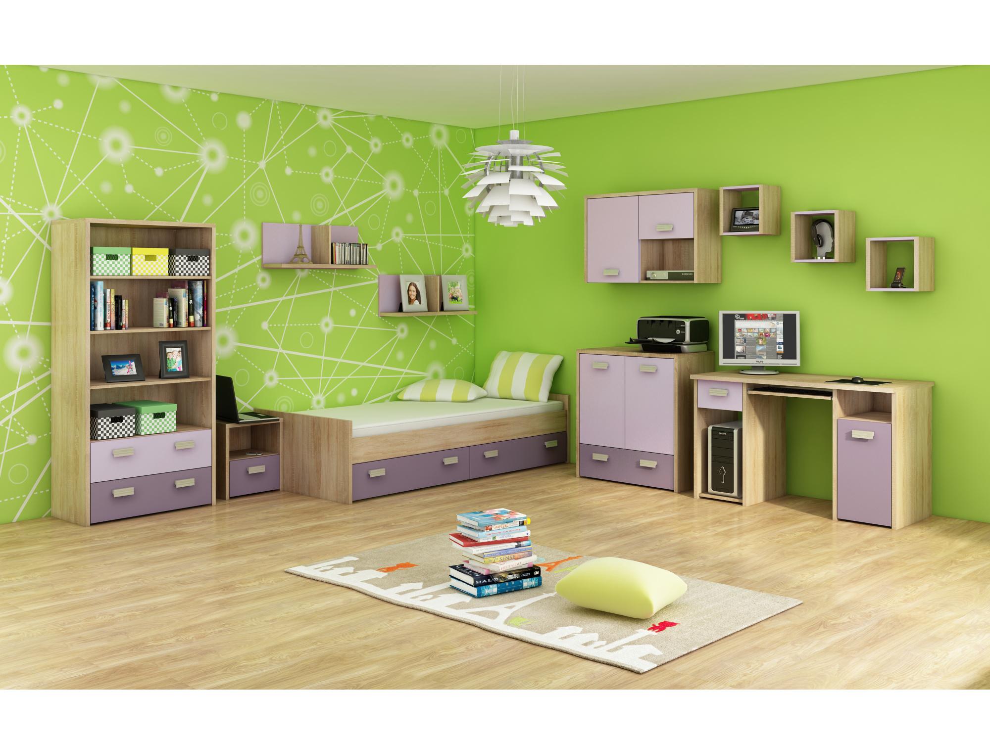 MORAVIA FLAT Dětský pokoj KITTY 3, barva: ...
